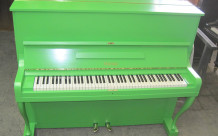 Mörike-Klavier, grün umlackiert